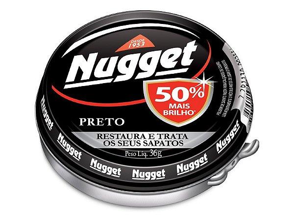 NUGGET PASTA PRETO 36GR