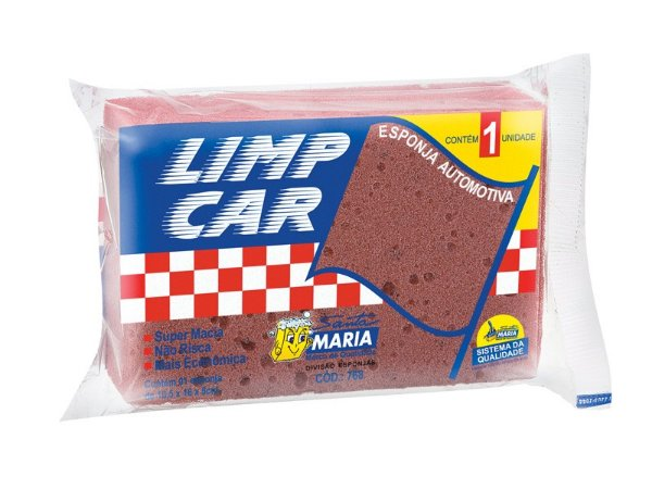 ESPONJA AUTOMOTIVA LIMP CAR SMARIA