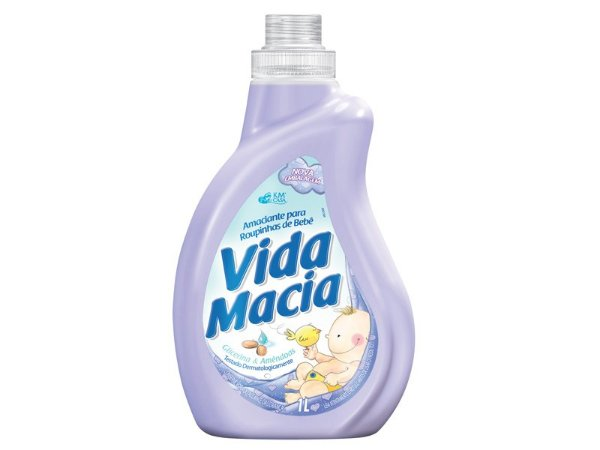 AMACIANTE VIDA MACIA GLIC/AMENDOAS 1L