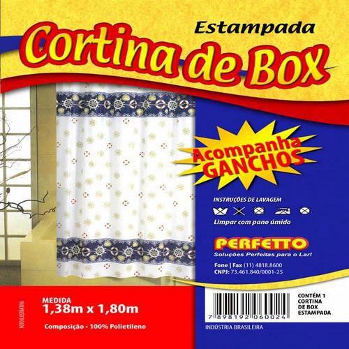 CORTINA DE BOX EST 1,38X1,80M PERFETTO