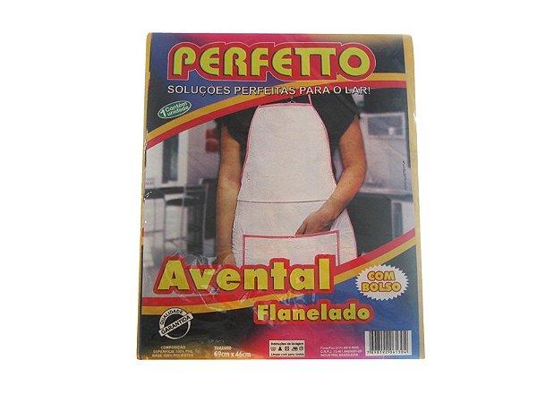 AVENTAL SINT FLANELADO 69X46CM PERFETTO