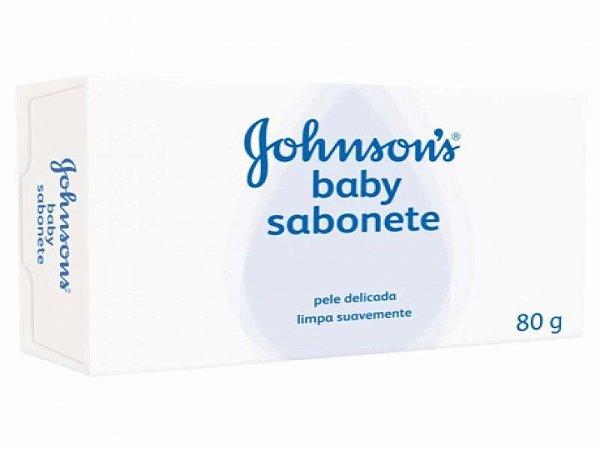 SABONETE JOHNSONS BABY REGULAR 80G