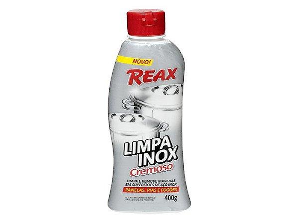 LIMPA INOX CREMOSO REAX 400G