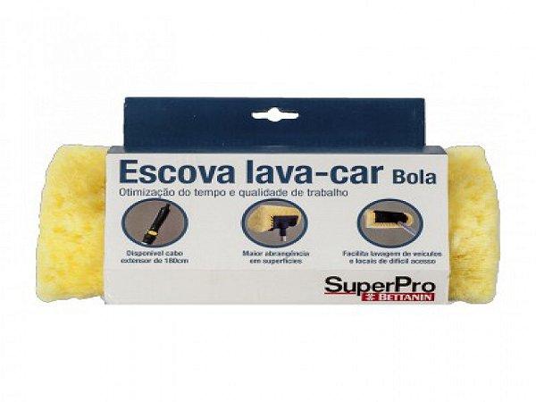 ESCOVA LAVA CAR BOLA SUPER PRO SEM CABO