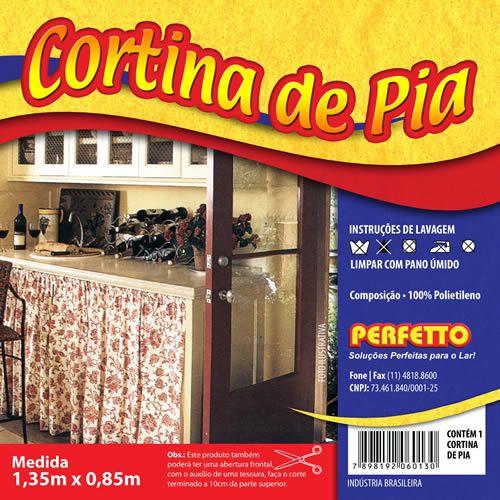 CORTINA DE PIA 1,35X80CM PERFETTO
