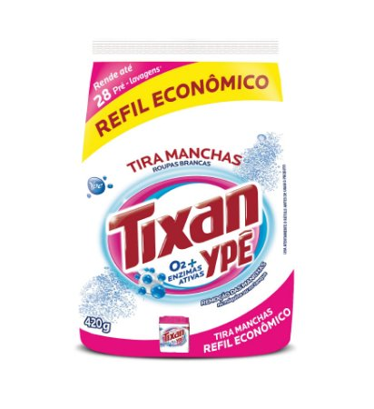 TIRA MANCHAS PO YPE ROUPAS BRANCAS REFIL 420G