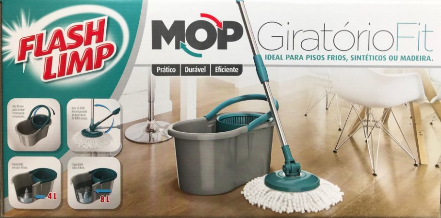 MOP GIRATORIO FIT FLASHLIMP