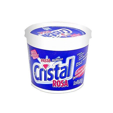 PASTA CRISTAL ROSA 500G