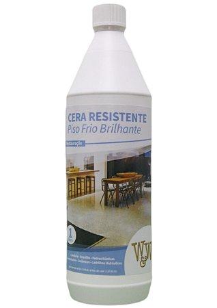 CERA W&W RESISTENTE PISO FRIO BRILHANTE 1L