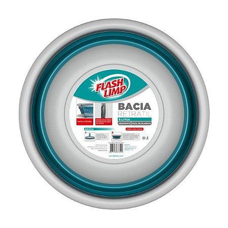 BACIA RETRATIL 8L FLASH LIMP