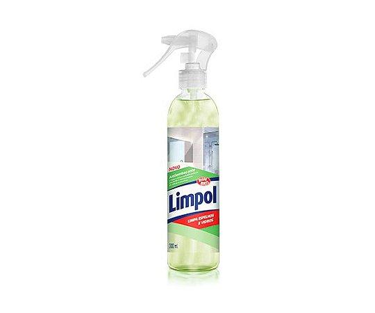 LIMPA ESPELHOS/VIDROS LIMPOL ANTIEMB GAT 300ML