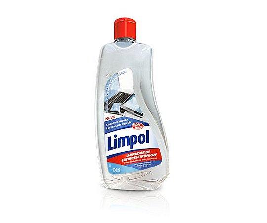 LIMPADOR DE ELETROELETRONICOS LIMPOL 200ML