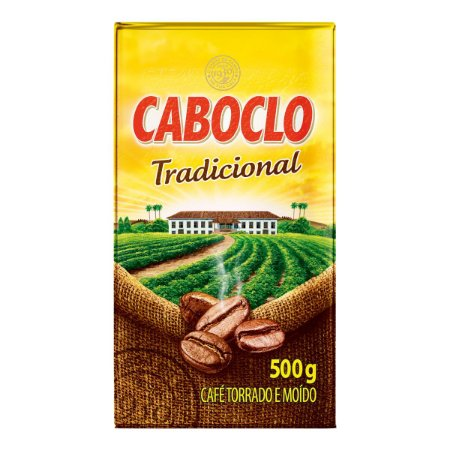 CAFE CABOCLO 500GR VACUO PURO