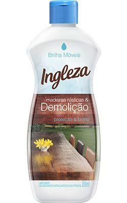 BRILHA MOVEIS MADEIRA RUST/DEMOLICAO 200ML