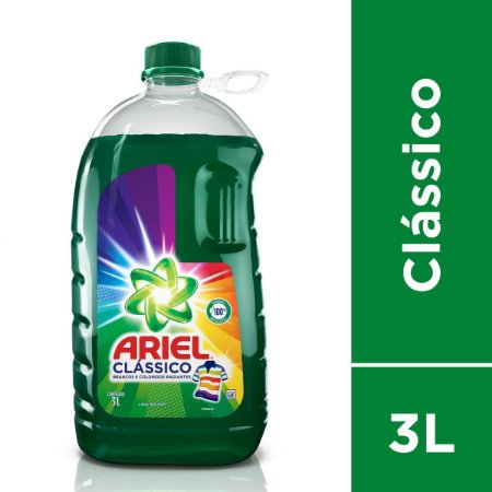 LAVA ROUPAS ARIEL CLASSICO 3L