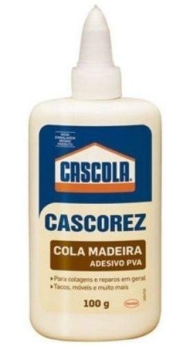 COLA MADEIRA CASCOREZ 100G
