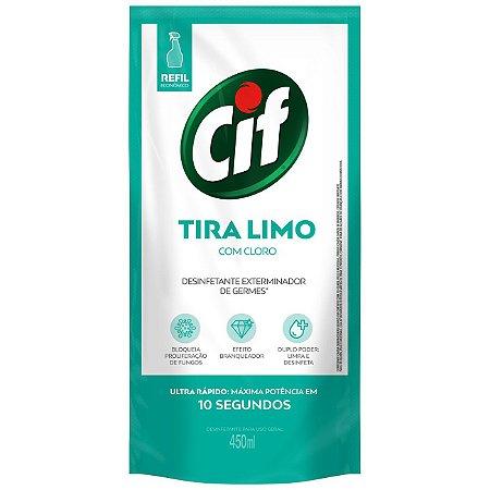 LIMP CIF ULTRA RAPIDO T LIMO C/CLORO SACHE 450ML