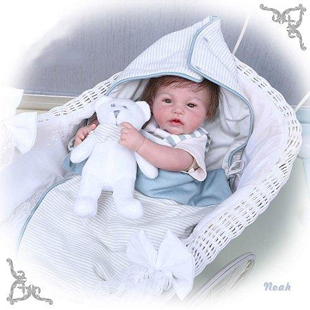 Bebê Reborn Noah Hiper Realista