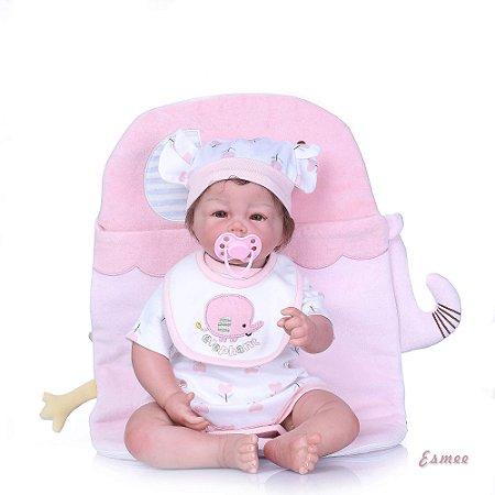 Bebê Reborn Esmee - Hiper Realista