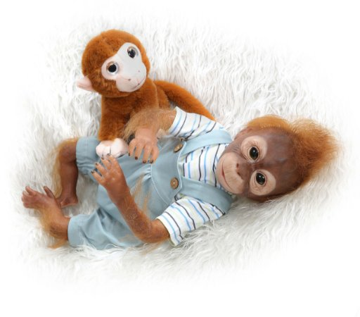 Bebê Donkey Reborn Macaco - Lançamento
