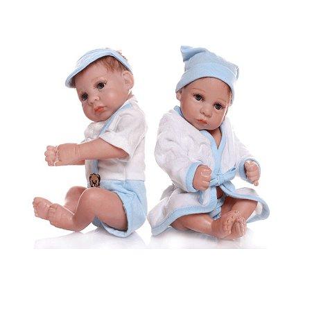 Bebês Reborn Gêmeos Yuri e Yago
