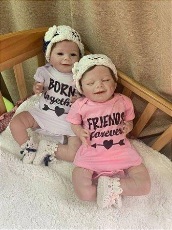 Bebê Reborn Lipe e Susi