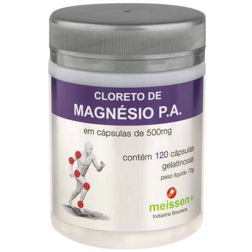 cloreto de magnesio P.a 120 caps meissen