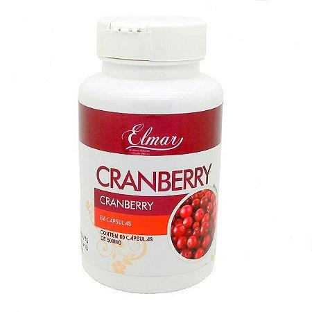 cranberry em capsula elmar