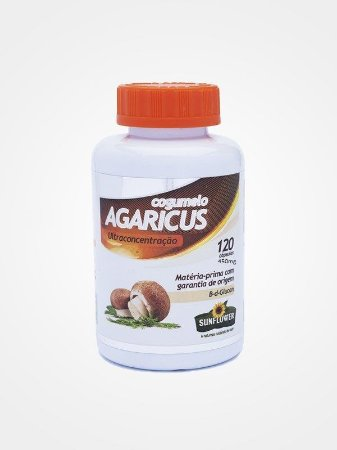 cogumelo agaricus 100caps sunflower