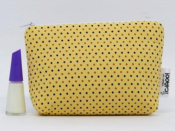 Galinha Amarela - Nécessaire Pequena - Opção 3