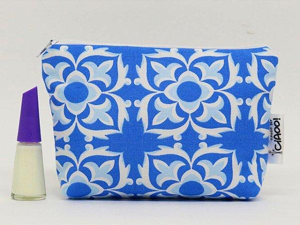 Azulejo Português - Nécessaire Pequena - Opção 1