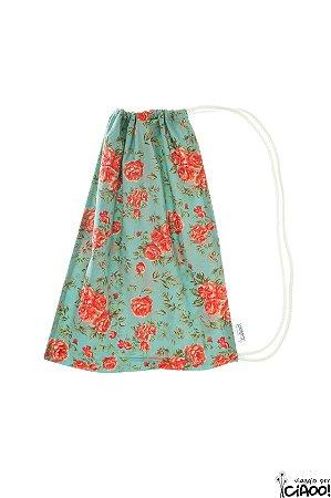 Flor Vintage - Organizador de Bagagem - Opção 4