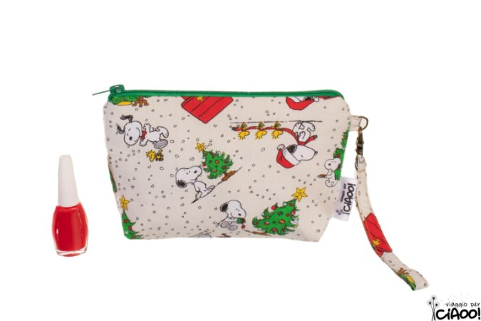 Snoopy Natal - Clutch