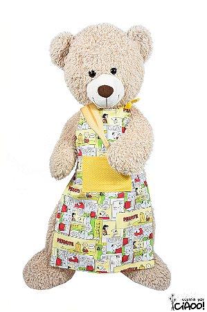 Snoopy Amarelo - Avental Infantil - Opção 1