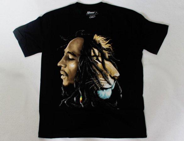 Camiseta Bob Marley - Lion