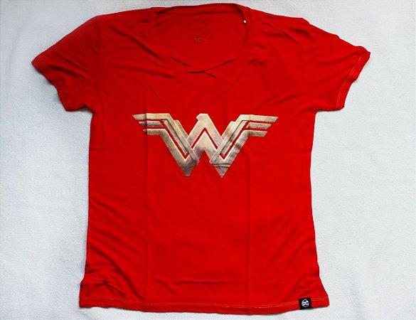 Camiseta Feminina Mulher Maravilha - BB