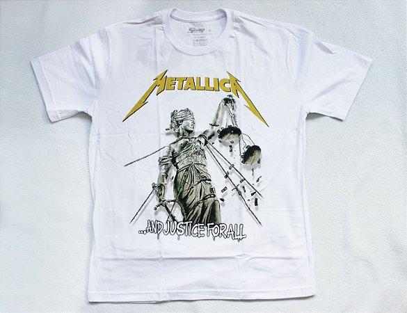 Camiseta Metallica - Justice for All