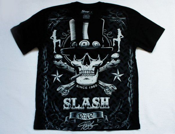 Camiseta Guns n' Roses - Slash Edição Especial