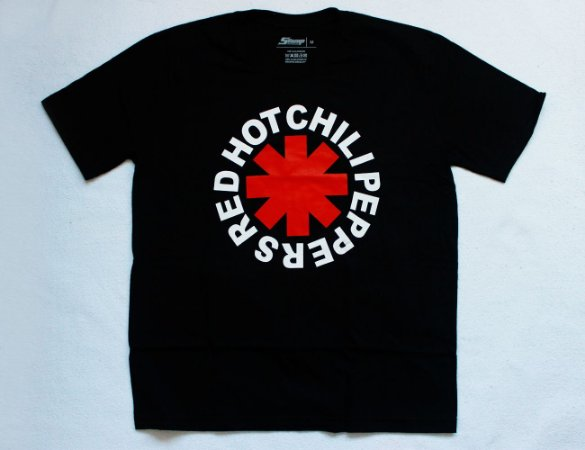 Camiseta Red Hot Chili Peppers logo