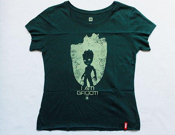 Camiseta Feminina - Baby Groot