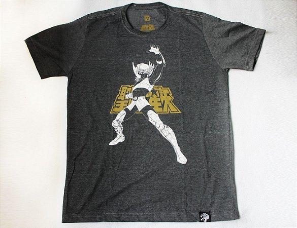 Camiseta Cavaleiros do Zodiaco - Seiya