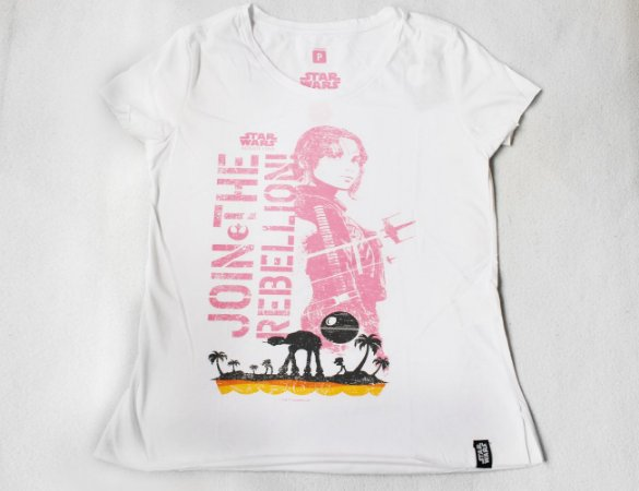 Camiseta Feminina Star Wars Rogue One - Join the Rebellion