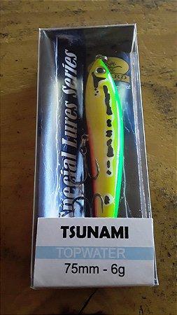 Isca Artificial Lizard Tsunami 75mm