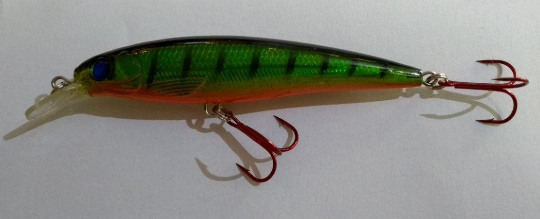 Isca Artificial Capitão Hook Top 10 - 11cm