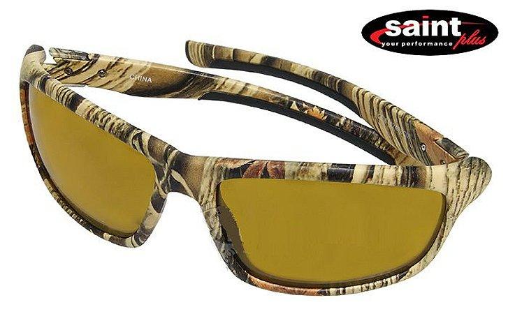 Óculos Polarizado Saint Camuflado Bravo - Yellow