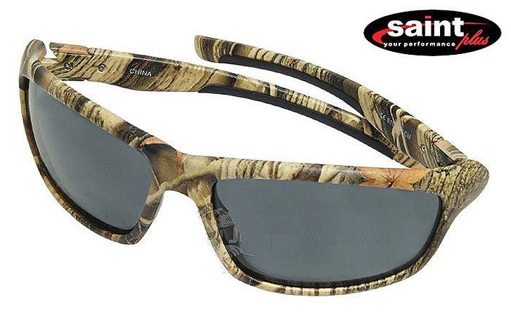 Óculos Polarizado Saint Camuflado Bravo - Smoke