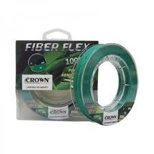 Linha Multifilamento Crown Fiber Flex 4x  100m