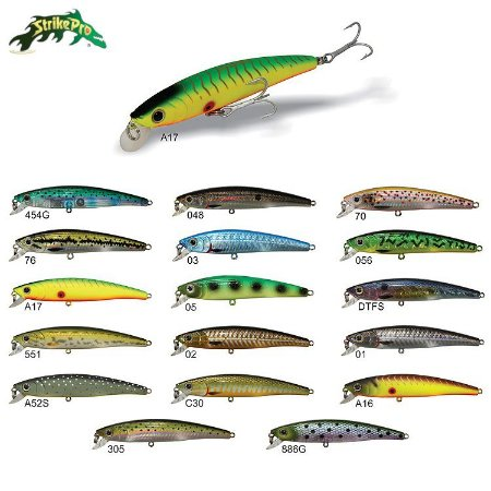 Isca Artificial Strike Pro Strik Minnow 90