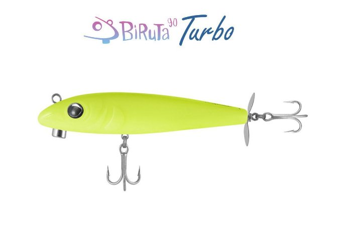Isca Artificial Deconto Biruta 90 Turbo