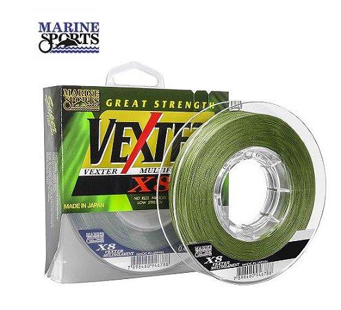 Linha Multifilamento Marine Sports Vexter X8 300m